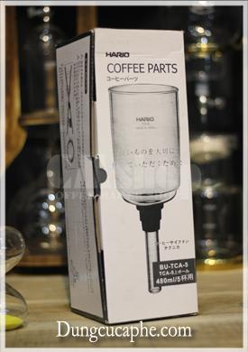 Bình thủy tinh thay thế của syphon Hario 5 cup chính hãng