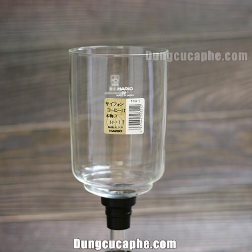 Bình thay thế thủy tinh syphon hario 5 cup