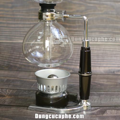Bếp đèn cồn đi kèm sẵn trong bộ syphon Timemore