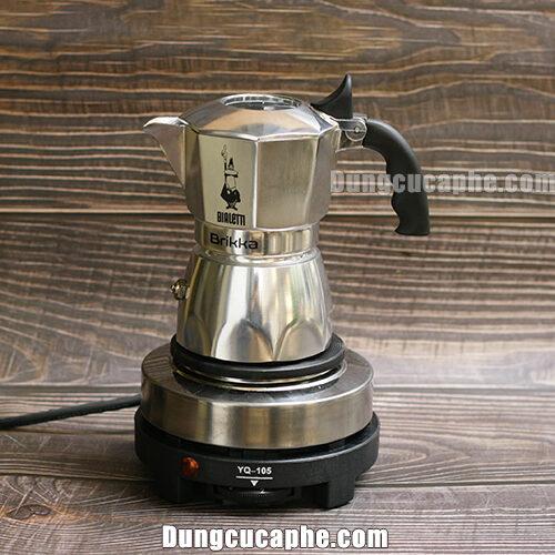 Bếp điện Moka Pot có thể vừa vặn với nhiều dòng ấm Moka Pot Bialletti đang có trên thị trường hiện nay