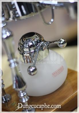 Bếp cồn của bình pha cà phê syphon cân bằng Time More bạc
