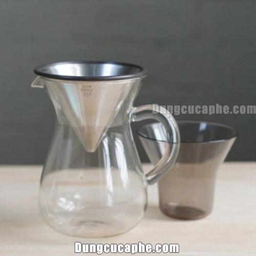 Bộ Slow Coffee Styles Kinto 2 cup 300ml - Set pha cà phê Pour Over tại nhà hoàn hảo