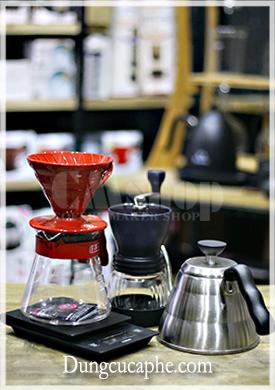 Bộ dụng cụ pha cà phê Drip của Hario