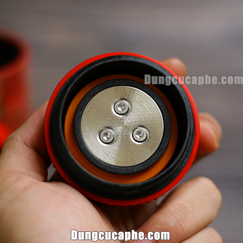 Bộ lọc cà phê của dụng cụ pha cà phê Espresso Nanopress Pixie Red Tattoo Limited