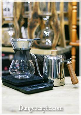 Bộ pha cà phê Pour Over giá rẻ phù hợp cho người mới bắt đầu