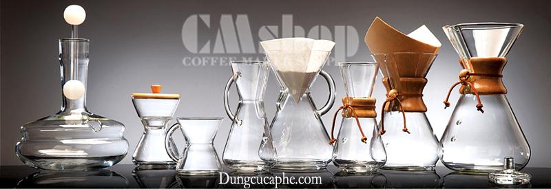 Bộ sưu tập bình pha cà phê Chemex hoàn hảo