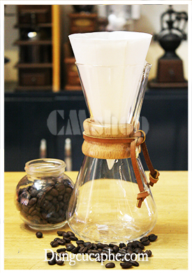 Bình pha cà phê Chemex 3 cup Classic 480ml