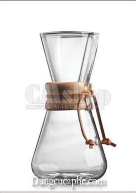 Bình pha cà phê thủy tinh Chemex Classic 3 cup 480ml - view 1