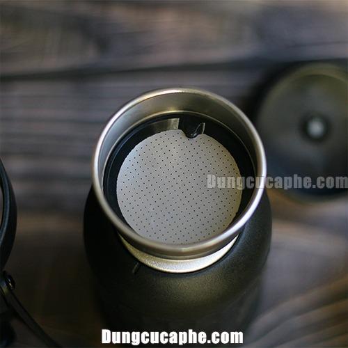 Bộ phận đựng cà phê bên trong máy nén Espresso Staresso