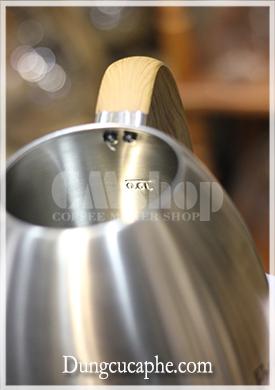 Brewista Artisan 700ml tối ưu nhất khi đun trên bếp ở 0.6L