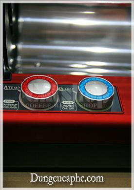 Các nút điều khiển nhiệt độ và thời gian của máy Gene 101A Hàn Quốc