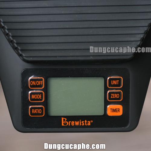 Các phím chức năng của cân Brewista Ratio