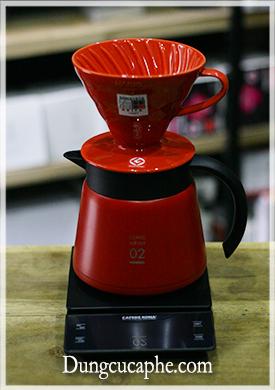 Cân điện tử CAFEDE KONA chuyên dụng cho cà phê Pour Over