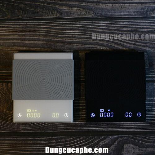Cân điện tử Timemore Basic sẽ có 2 màu đen và trắng