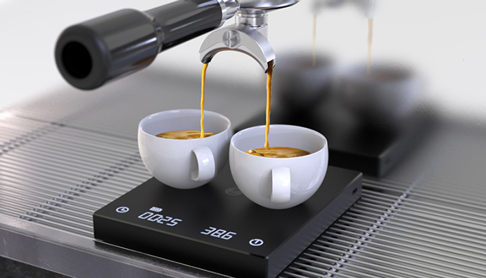 Cân điện tử Timemore Mirror Scales Basic dùng cho Espresso