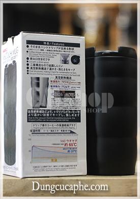 Cốc uống cà phê giữ nhiệt Hario - Nhật Bản