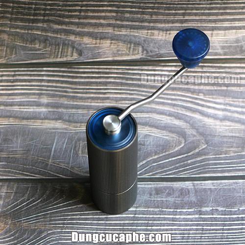 Cối xay cà phê bằng tay Timemore Lite Blue có thể chứa 35gr cà phê