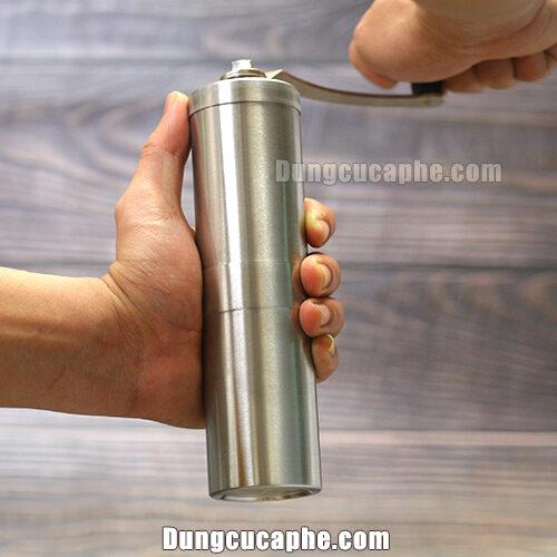 Cối xay tay cà phê Porlex tall cho cảm giác xay rất nhẹ