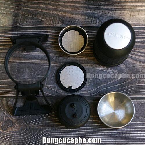Các phụ kiện của máy pha Espresso bằng tay Staresso
