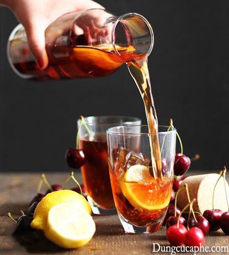 Cascara kết hợp với các hương vị hoa quả để tạo ra một đồ uống tuyệt vời