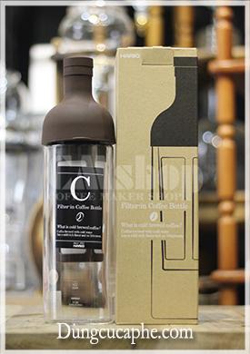 Chai ngâm cà phê lạnh có lọc Hario 700ml (Filter in coffee bottle) - Made in Japan