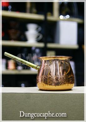 Dụng cụ pha cà phê đồng Turkish Kalita - Made in Japan.