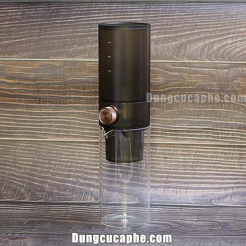Dụng cụ pha cà phê lạnh Timemore Ice Dripper Set Transparent 400ml - Đen mờ