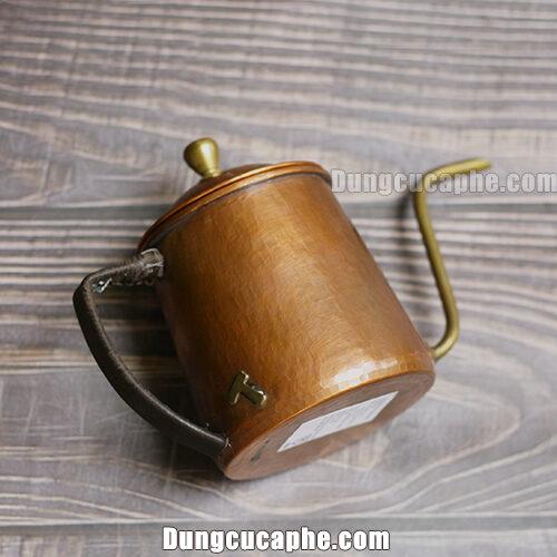 Dung tích của ấm rót cafe đồng Hammer 600ml