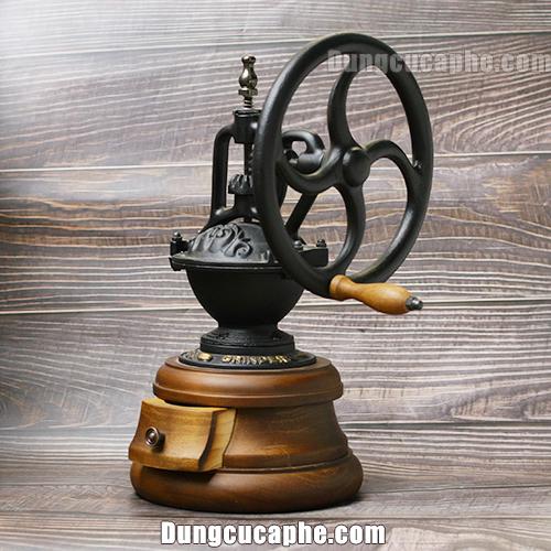 Góc chụp nghiêng của máy xay tay cà phê BE9378