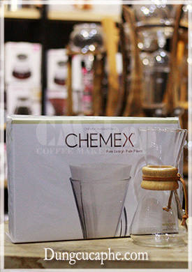 Giấy lọc Chemex 3 cup