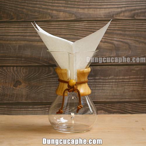 Giấy lọc cà phê Chemex 6 cups có hình cánh bướm