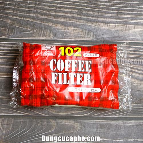 Giấy lọc cà phê Kalita 102
