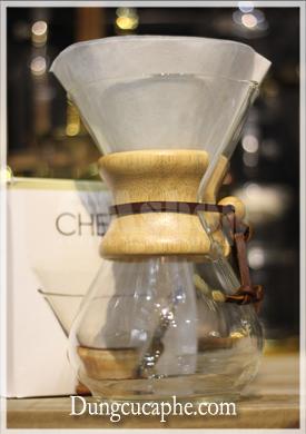 Giấy lọc cà phê chemex 6 cup sử dụng được cho cả bình 8 và 10 cup