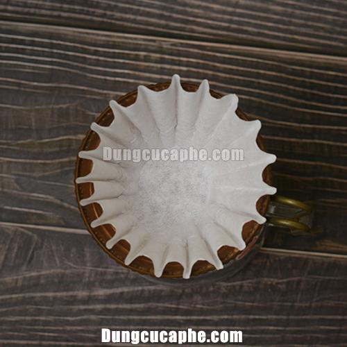 Giấy lọc cà phê dành cho phễu lọc Kalita Wave