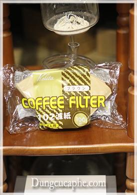 Giấy lọc cafe kalita 102