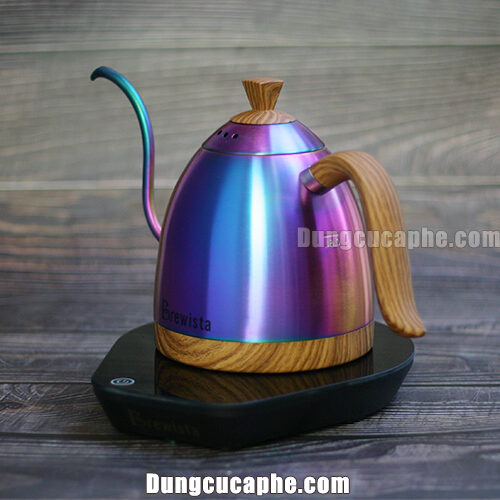 Hình ảnh ấm rót cổ ngỗng Brewista Artisan phiên bản cầu vồng với nhiều màu sắc