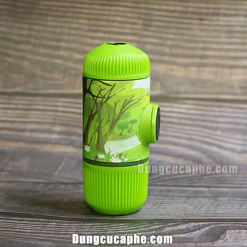 Hình ảnh rừng xanh với Wacaco Nanopress Journey Spring Run