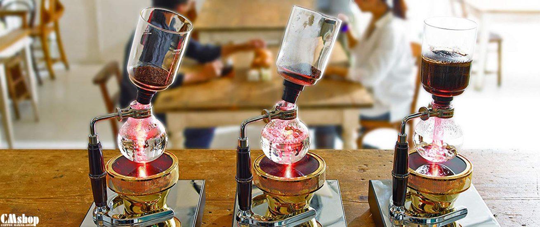 Hướng dẫn pha cà phê bằng bình Syphon