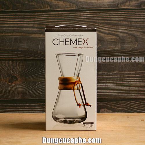 Hộp đựng bình cà phê Chemex 3cups