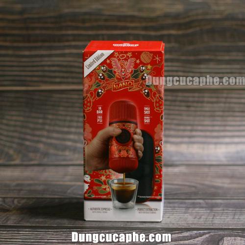 Hộp đựng bắt mắt của Wacaco Nanopress Red Tattoo Pixie Limited