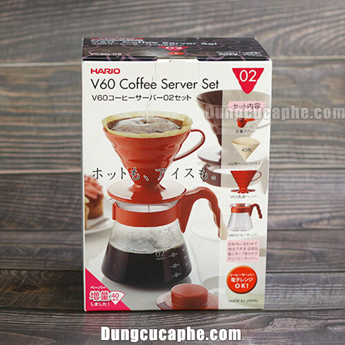 Hộp đựng bộ Kit Hario Pour Over