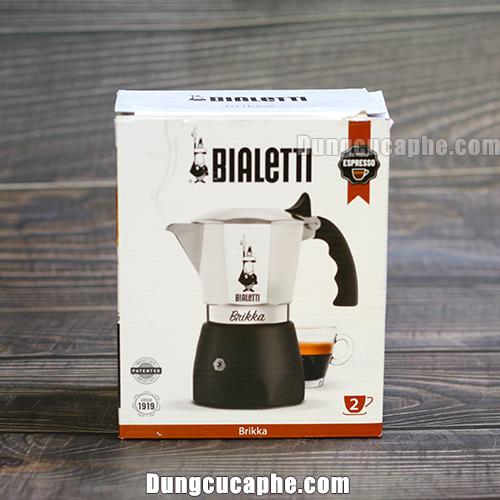 Hộp đựng của ấm pha cà phê kiểu Ý Moka Pot Brikka