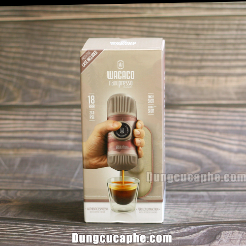 Hộp đựng của Dụng cụ nén cà phê Espresso cầm tay Wacaco Nanopress Journey Fall Break