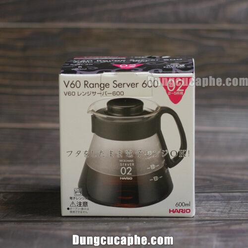 Hộp đựng của bình cà phê Hario XVD-60B 600ml