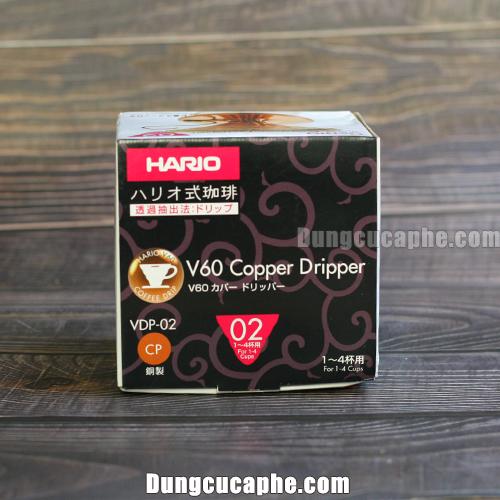 Hộp đựng của phễu lọc đồng Hario Copper Dripper