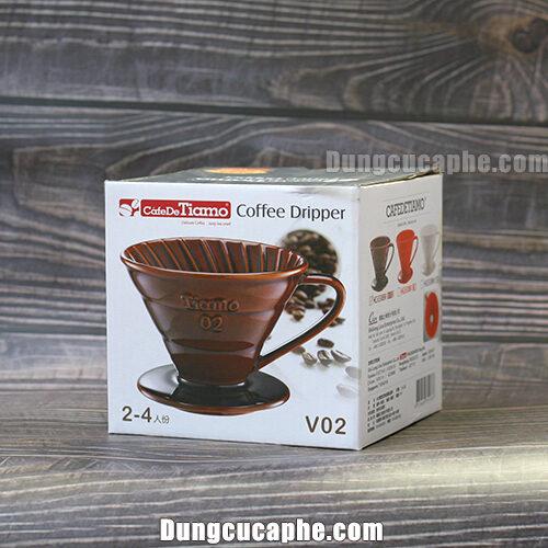 Hộp đựng của phễu lọc cà phê V60 Tiamo