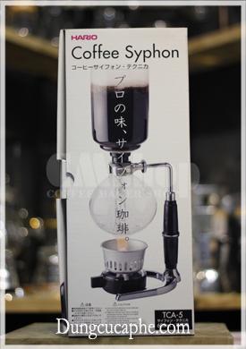 Hộp syphon Hario chính hãng Japan có phần nắp cài