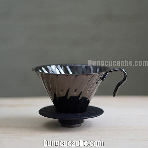 Hario Metal Black V60 VDM-02BC – Phễu lọc cà phê Made in Japan