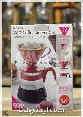 Hario v60 coffee set v60 VCSD-02R