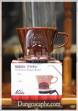 KALITA 102 Ceramic Dripper Brown